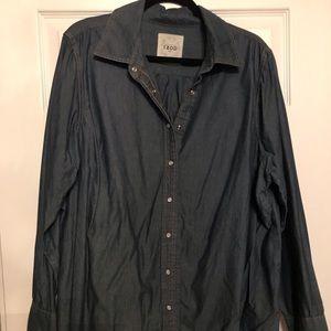 Tops - Denim longsleeve shirt